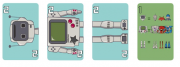 Robo Troc Promo 1 Game Robot Expansão de Jogo Flick Games FGSPROMO03