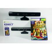 Sensor Kinect + jogo Kinect Adventures Xbox 360 usado Original