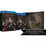 Shadow of War Sombras da Guerra Edição Prata Playstation 4 Original Lacrado