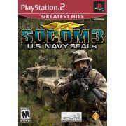 SOCOM 3 US Navy Seals PS2 Original Usado NTSC USA