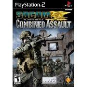 SOCOM US Navy Seals Combined Assault PS2 Original Usado NTSC USA