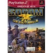 SOCOM US Navy Seals PS2 Original Usado NTSC USA