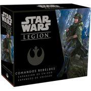 Star Wars Legion Wave 2 Comandos Rebeldes Expansão de Unidade Galapagos SWL021