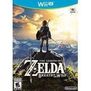 The Legend of Zelda Breath of the Wild Wii-U Original Usado