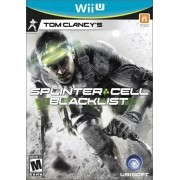 Tom Clancy's - Splinter Cell Black List Wii-U Original Usado