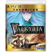 Valkyria Chronicles Favoritos Playstation 3 Original Lacrado