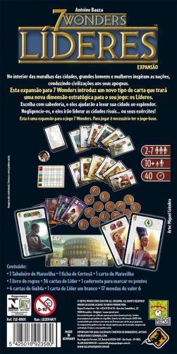 7 Wonders Lideres Expansão Galapagos 7WO002  - Place Games