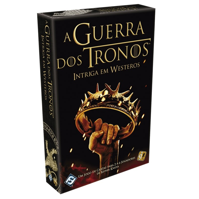 A Guerra dos Tronos Intriga em Westeros Galapagos GTB002  - Place Games