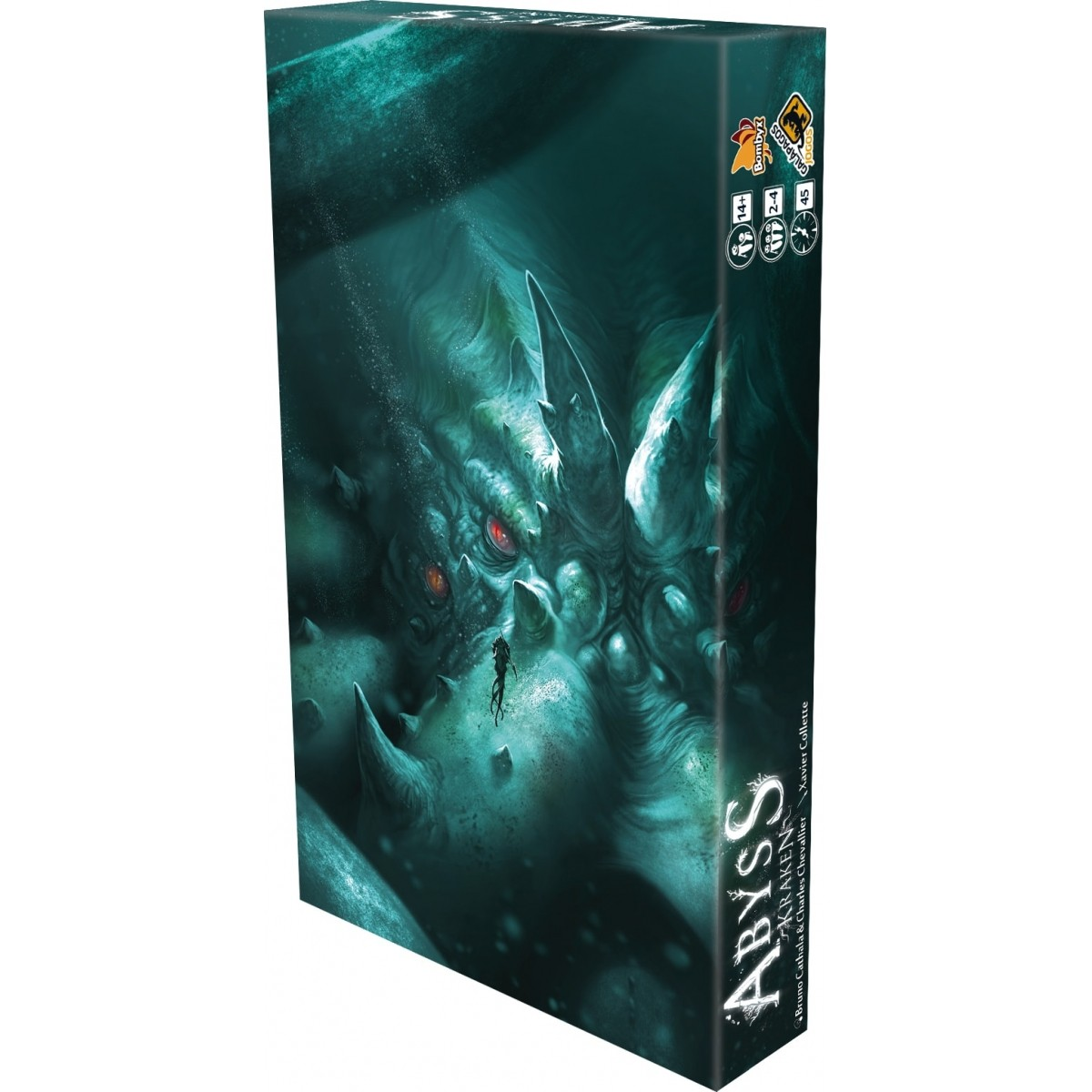 Abyss Expansão Kraken Expansão Galapagos ABY002  - Place Games