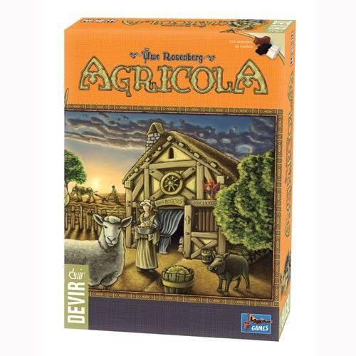 Agricola (Edição Revisada) Jogo de Tabuleiro Devir BGHAGR12  - Place Games
