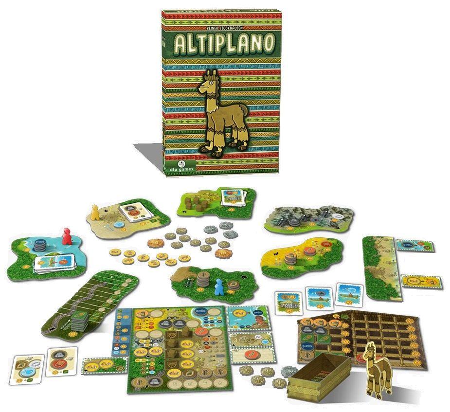 Altiplano Jogo de Tabuleiro Meeple BR   - Place Games