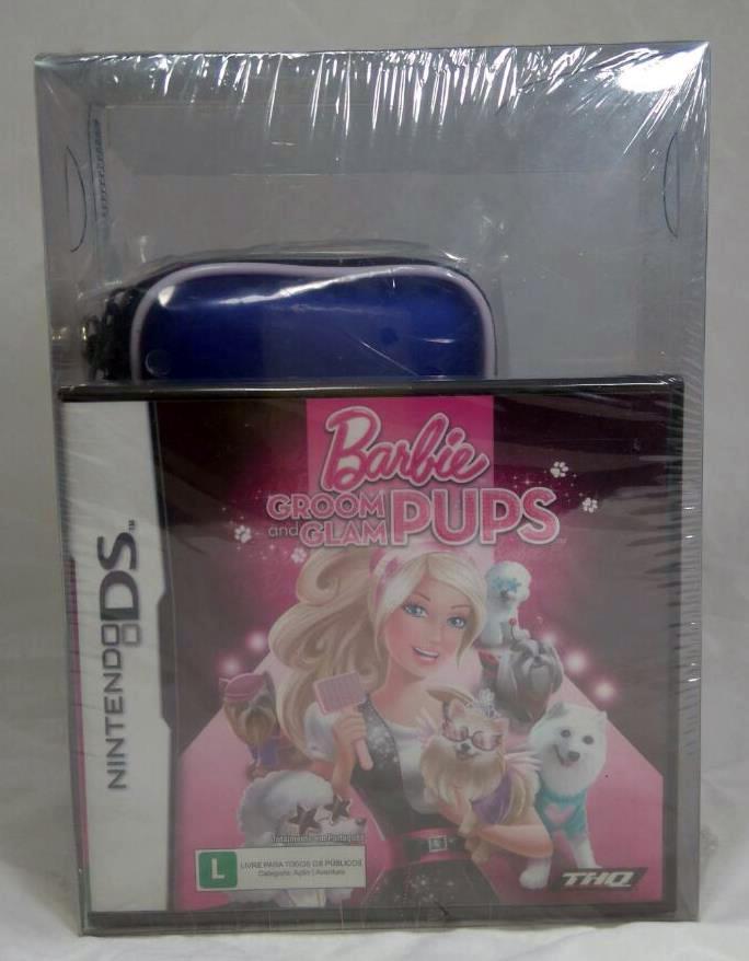 Barbie Groom and Glam + Estojo para DS Lite Nintendo DS Original Lacrado  - Place Games