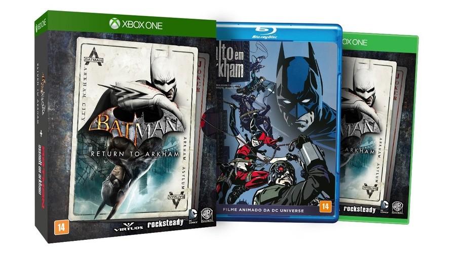 Batman Return to Arkham Ed. Especial Xbox One Original Lacrado  - Place Games