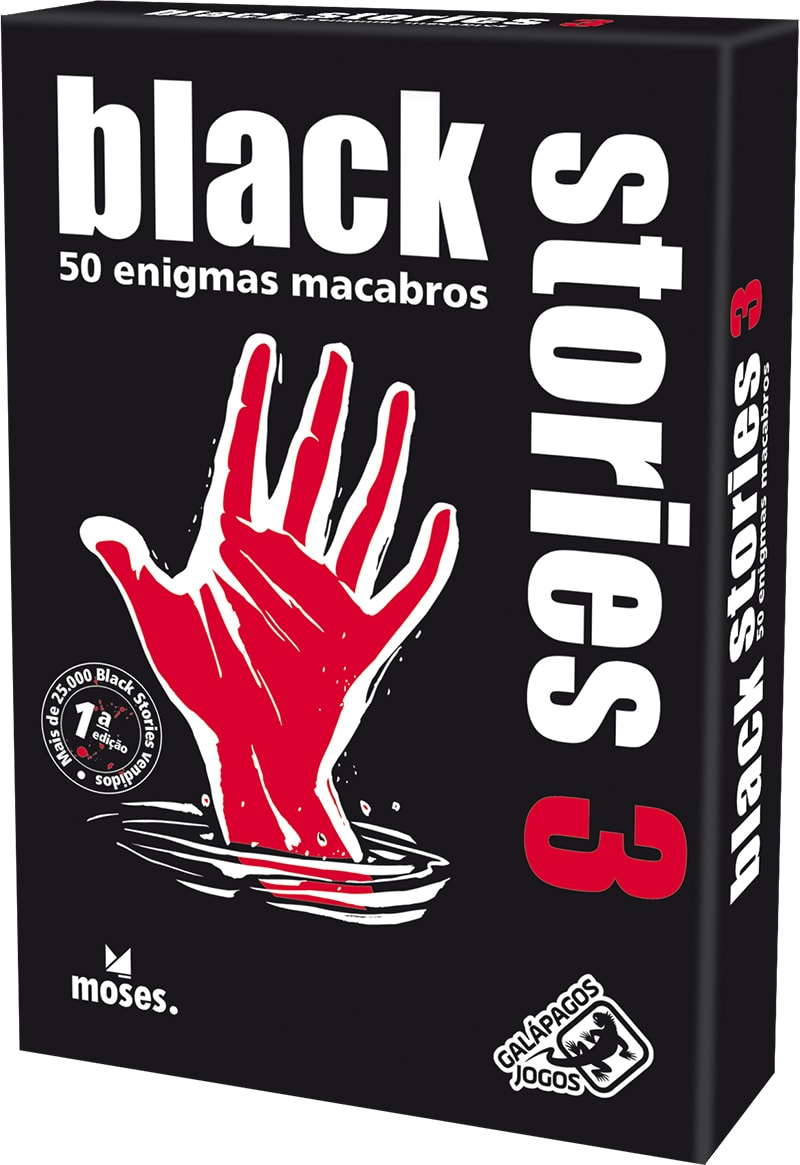 Black Stories 3 Galapagos BLK003  - Place Games