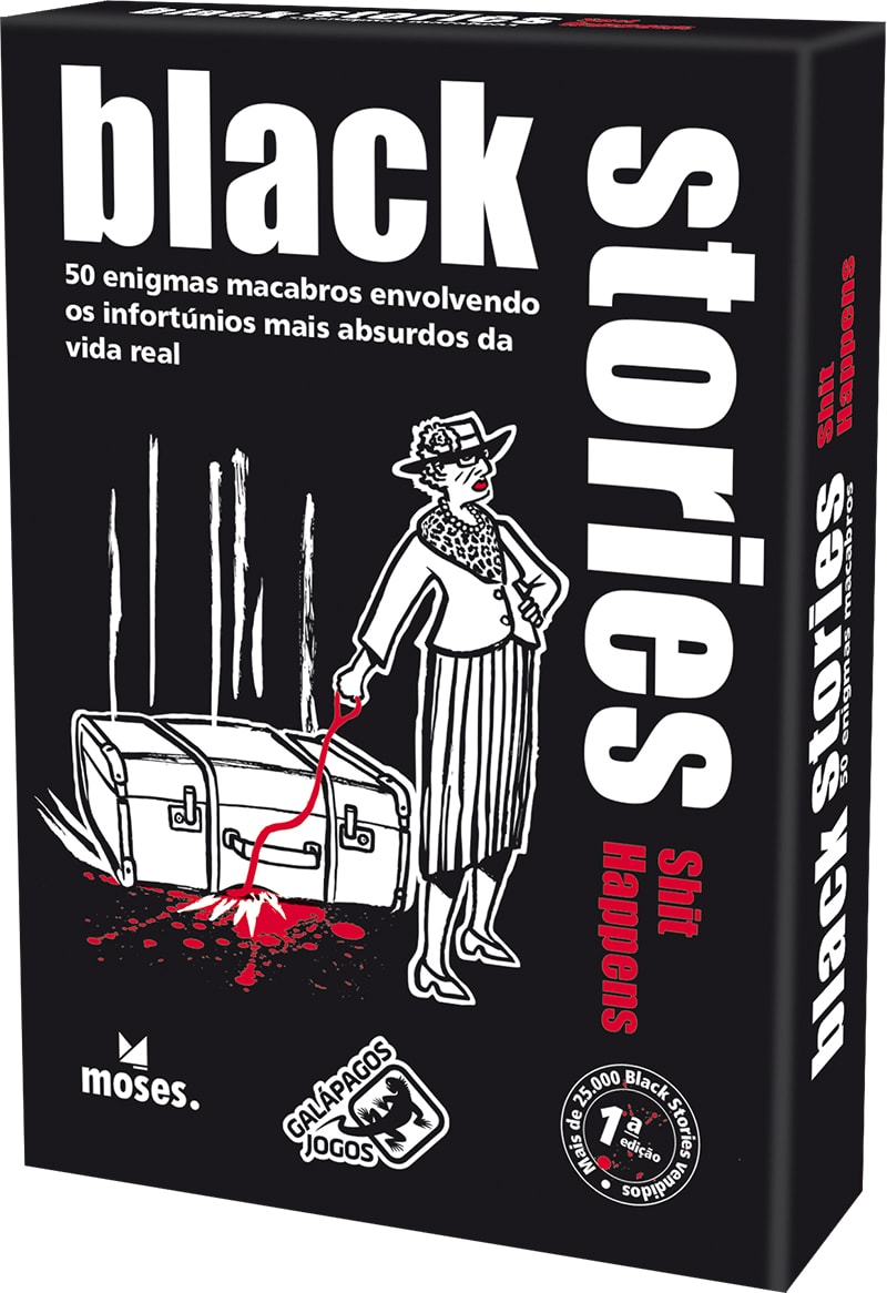 Black Stories Shit Happens Galapagos BLK102  - Place Games