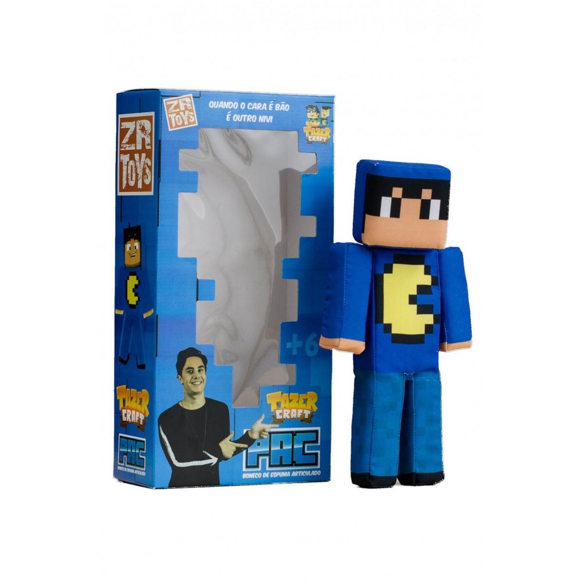Boneco Tazer Craft Pac ZR Toys C3037  - Place Games
