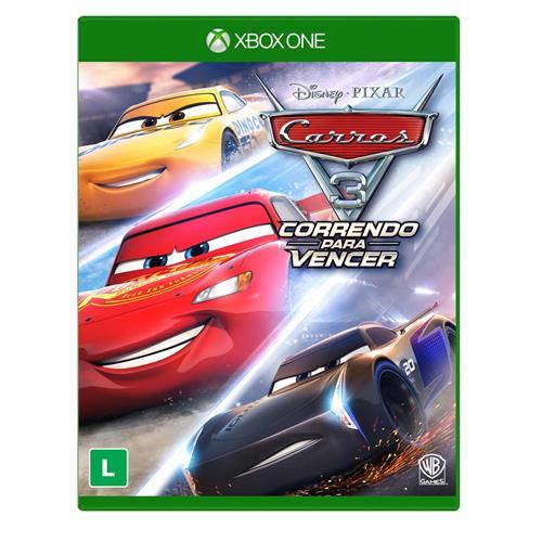 Carros 3 correndo pra vencer XBOX One Lacrado  - Place Games
