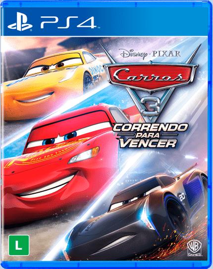 Carros 3 correndo pra vencer PS4 Lacrado  - Place Games