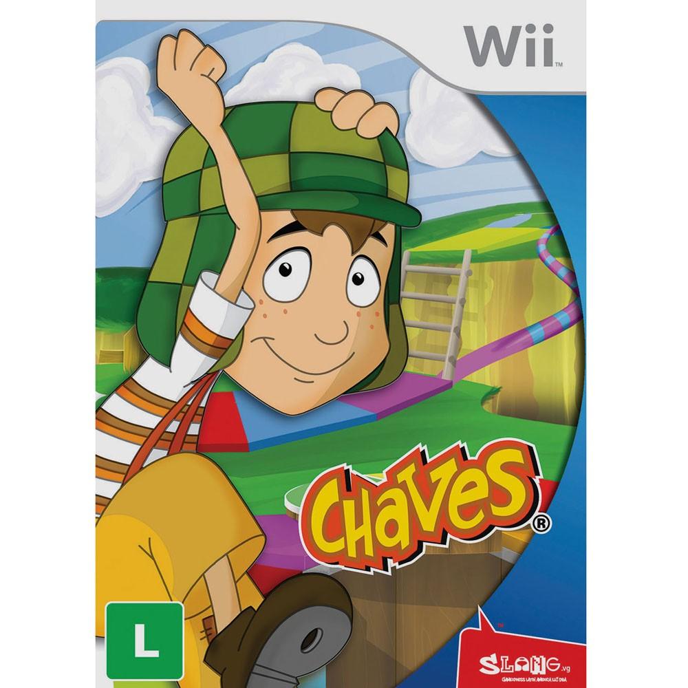 Chaves Nintendo Wii Original Lacrado  - Place Games