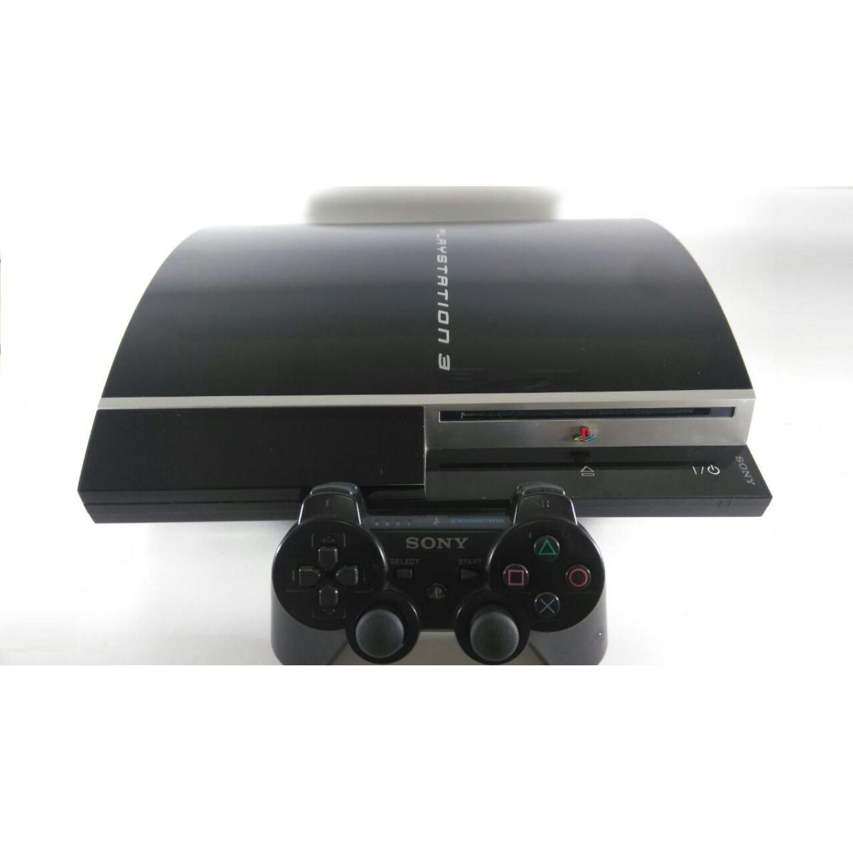 Console PS3 Fat 80GB 120V Original Usado - A Maior locadora de games on