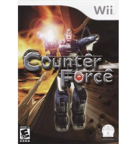 Counter Force Nintendo Wii Original Lacrado  - Place Games