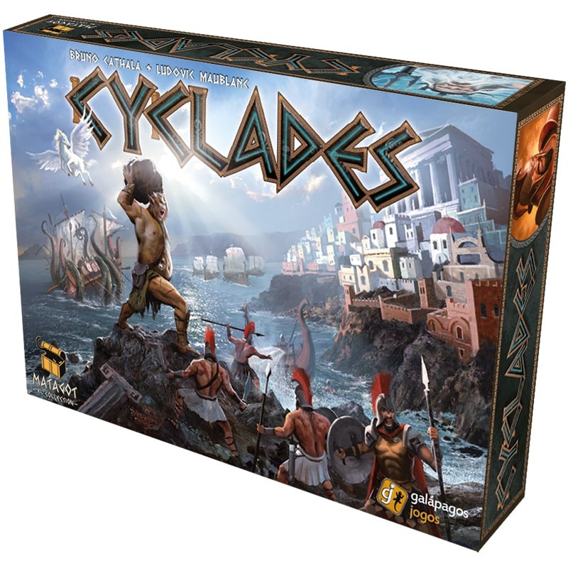 Cyclades Galapagos CYC001  - Place Games