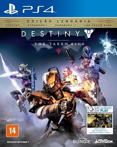 Destiny The Taken King Playstation 4 sem códigos Original Usado  - Place Games