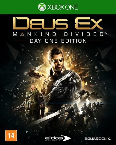 Deus EX Mankind Divided Day One Xbox One Original Usado  - Place Games