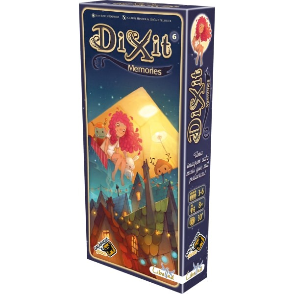 Dixit Memories Galapagos DIX006  - Place Games