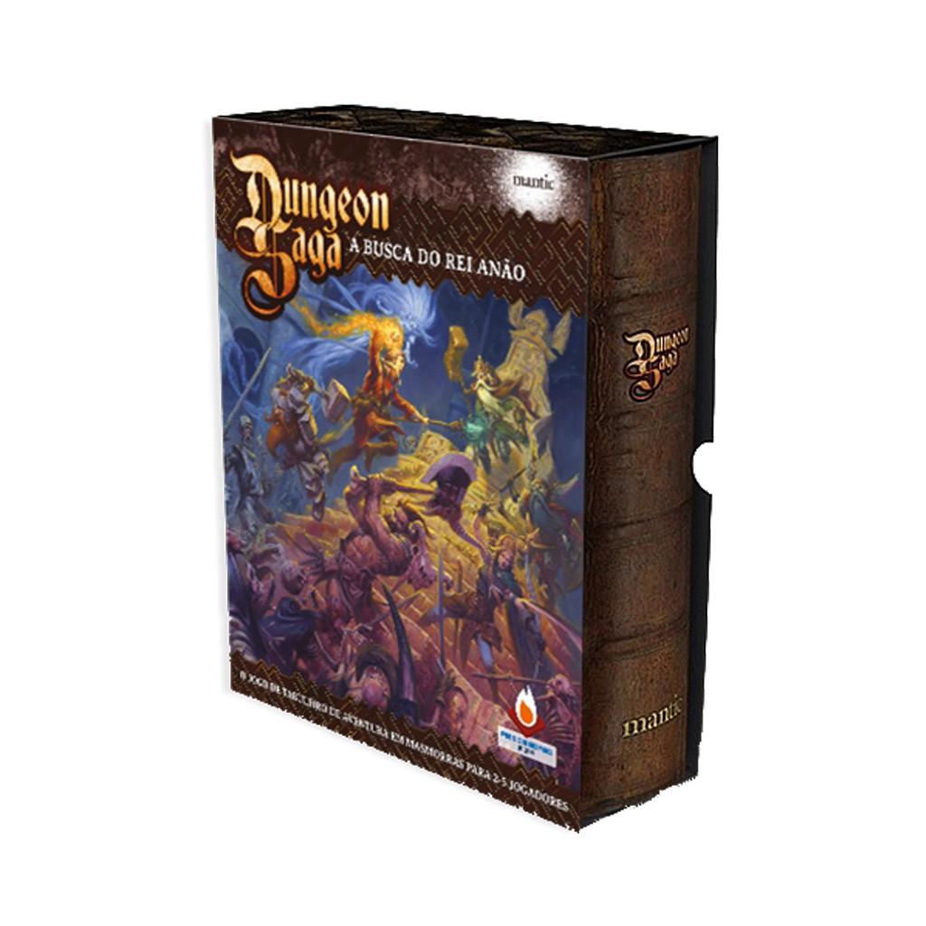 Dungeon Saga A busca do rei anão Fire on Board FOBDS  - Place Games
