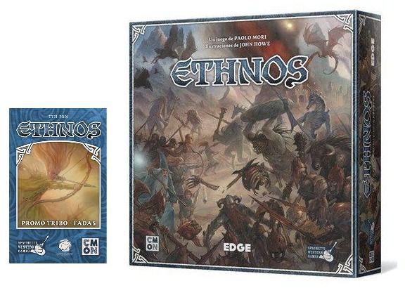 Ethnos + Expansão Fadas Jogo de Tabuleiro Conclave   - Place Games