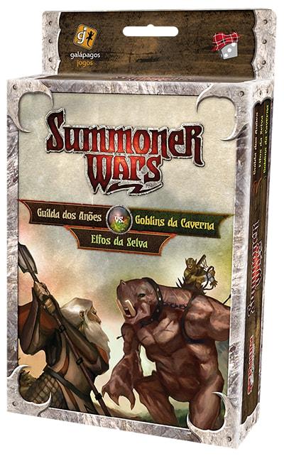 Summoner Wars Expansão Guilda dos Anões Vs Goblins da Caverna Galapagos SUM102  - Place Games