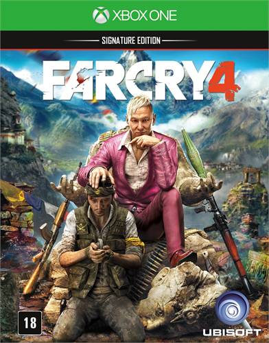 Far Cry 4 Signature Edition Xbox One Original Usado  - Place Games