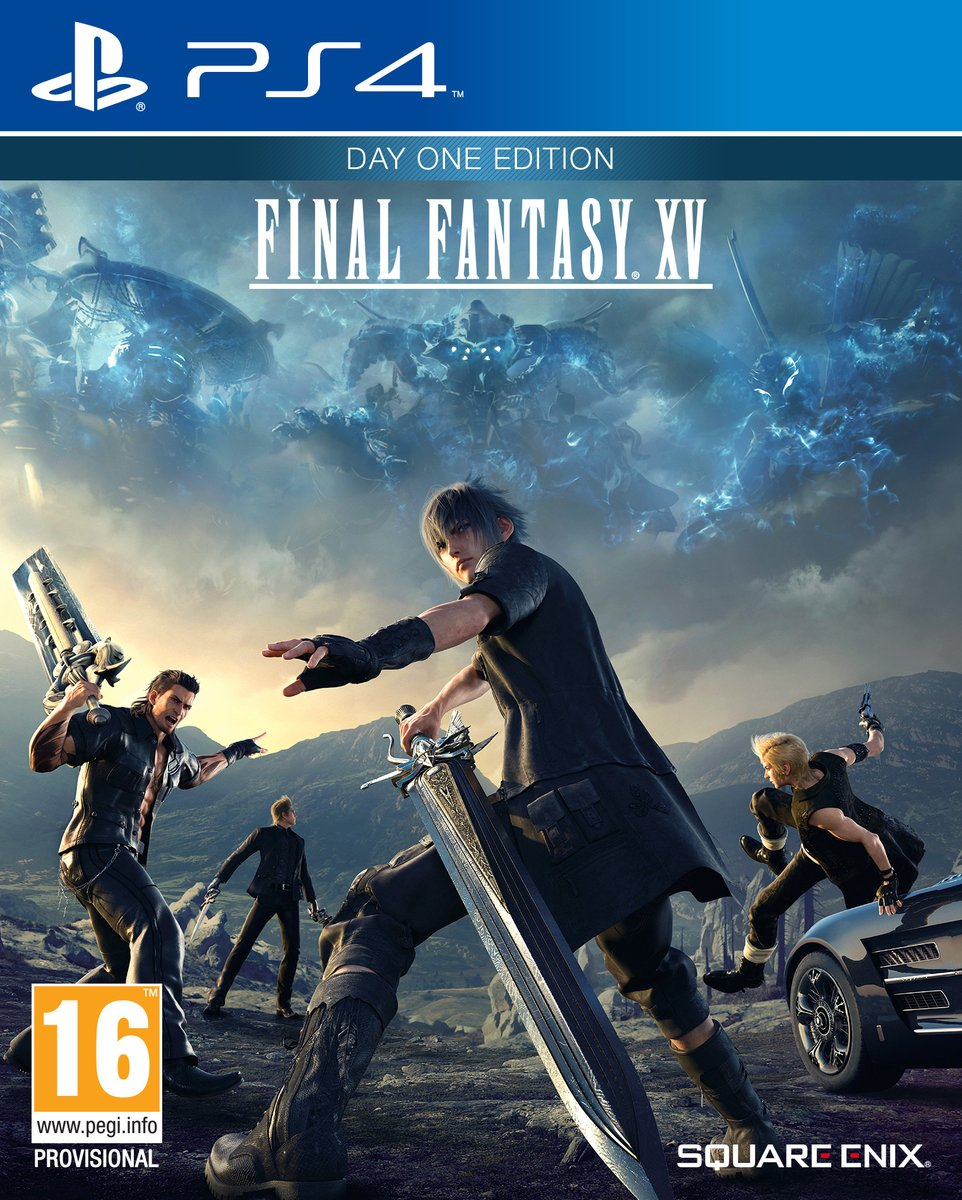 Final Fantasy XV - Playstation 4 Original Usado  - Place Games