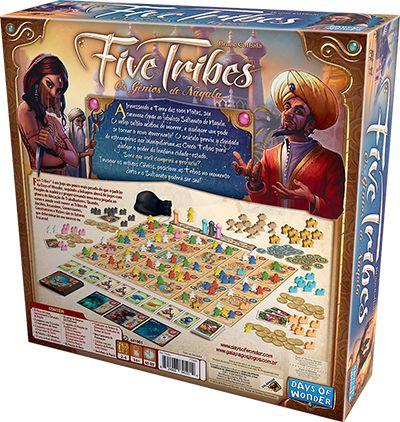Five Tribes Jogo de Tabuleiro Galapagos FTR001  - Place Games