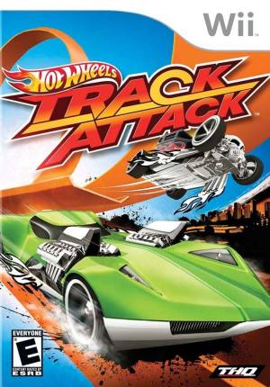 Hot Wheels Track Attack Nintendo Wii Original Lacrado  - Place Games