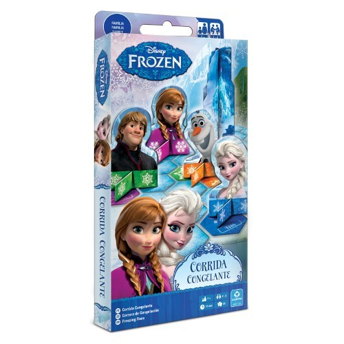 Jogo Frozen Corrida Congelante  Copag 97240  - Place Games