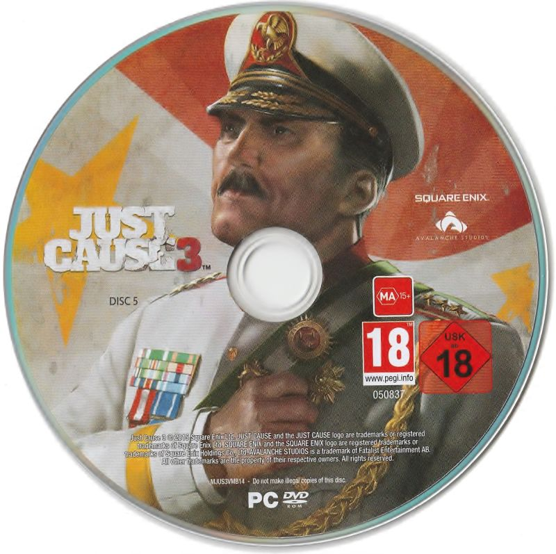 Just Cause 3 só a mídia Playstation 4 Original Usado  - Place Games