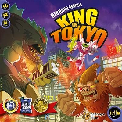King of Tokyo Boardgame Galapagos KOT001  - Place Games