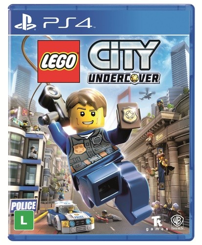 Lego City Undercover Playstation 4 Original Lacrado  - Place Games