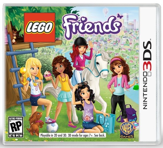 Lego Friends Nintendo 3DS Original Lacrado  - Place Games