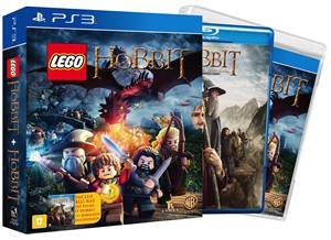 Lego The Hobbit Edição especial com filme Playstation 3 Original Lacrado  - Place Games
