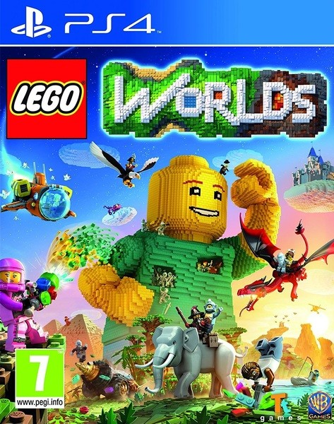 Lego Worlds Playstation 4 Original Usado  - Place Games