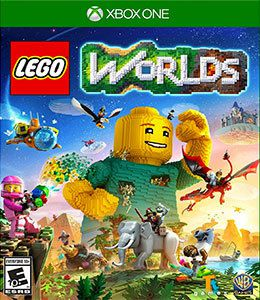 Lego Worlds Xbox One Original Lacrado  - Place Games