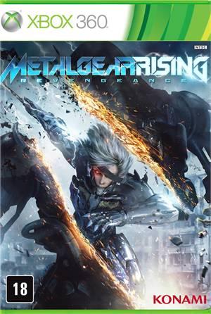 Metal Gear Rising Reveangence Xbox 360 Original Lacrado  - Place Games