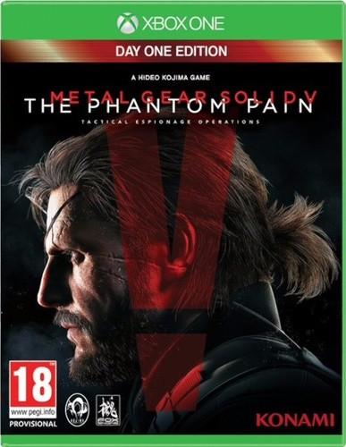 Metal Gear Solid V Phantom Pain Day One Xbox One Original Usado  - Place Games