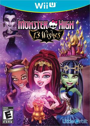 Monster High 13 Wishes Nintendo Wii-U Original Lacrado  - Place Games