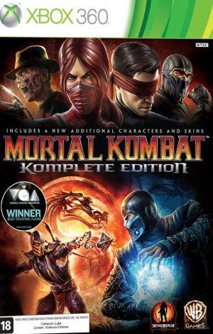 Mortal Kombat Komplete Edition Xbox 360 Original Lacrado  - Place Games