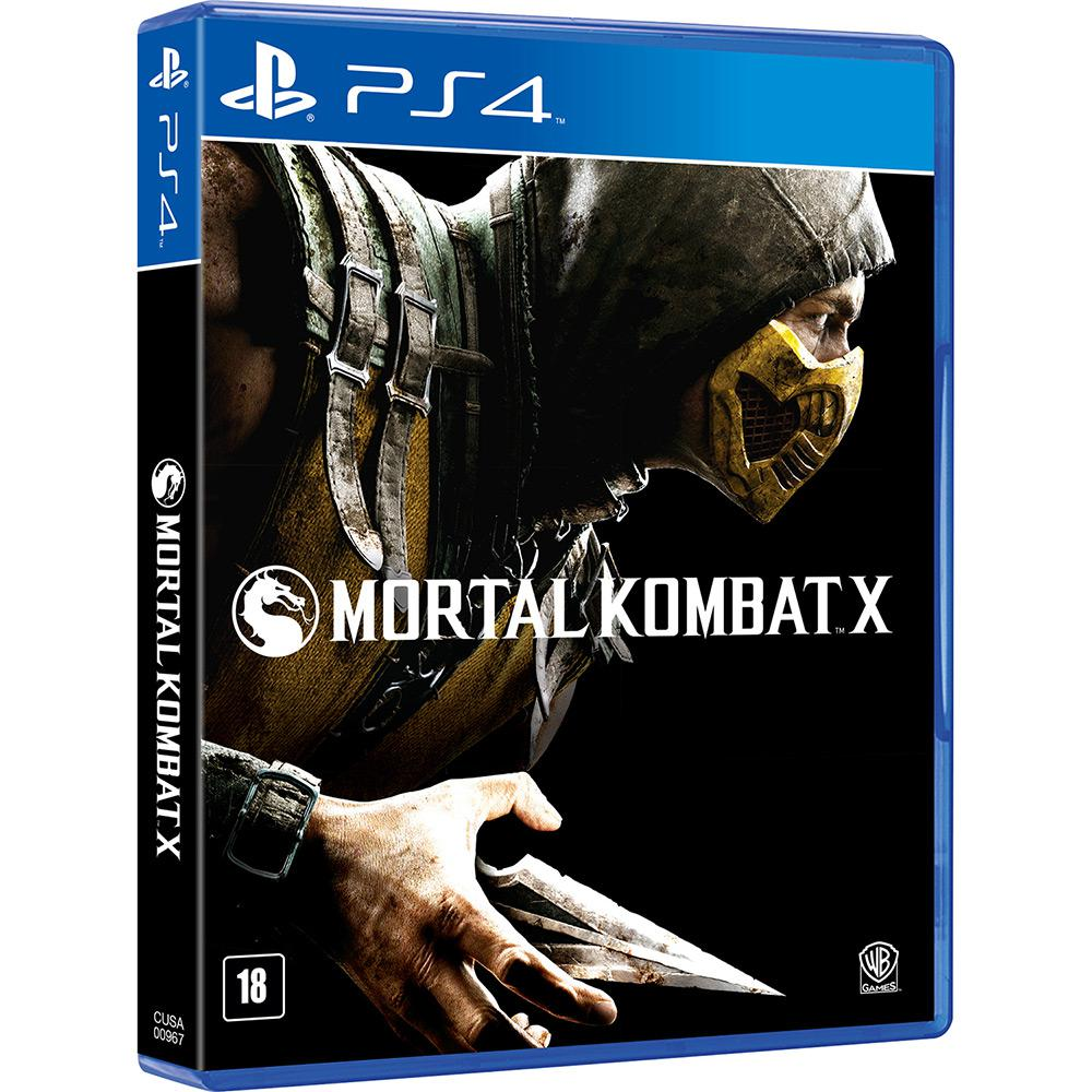 Mortal Kombat X Playstation 4 Usado  - Place Games