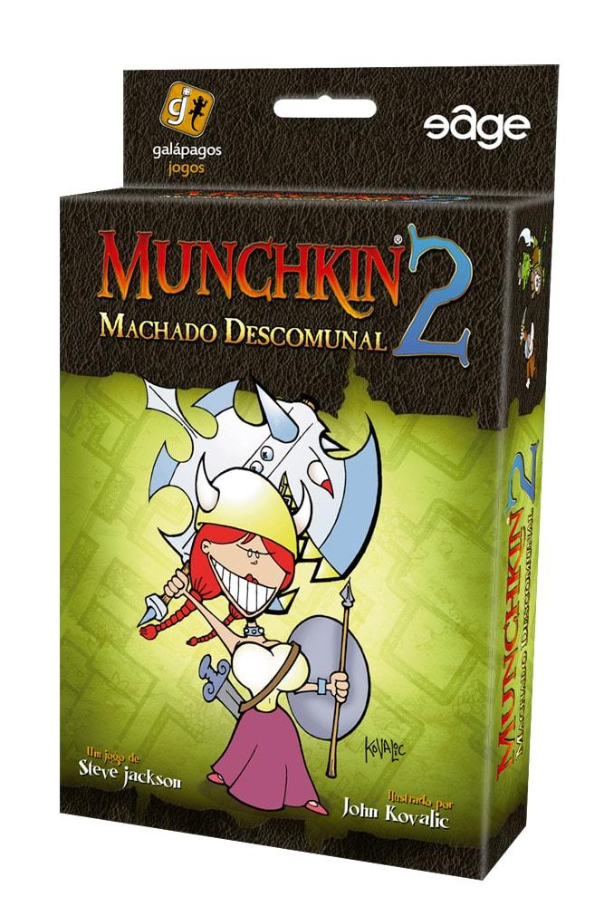 Munchkin 2 Machado Descomunal Galapagos MUN002  - Place Games